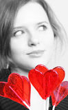 Valentine girl Stock Photo