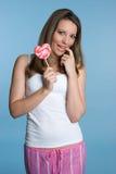 Valentine Girl Stock Image