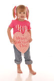Valentine girl3 Stock Photos