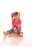 Valentine girl7 photographie stock libre de droits