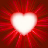Valentine gloss heart. EPS 8 Stock Photos