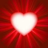 Valentine gloss heart. EPS 8 vector illustration