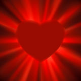 Valentine gloss heart. EPS 8 Royalty Free Stock Images