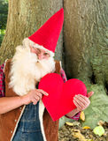 Valentine gnome Royalty Free Stock Photo
