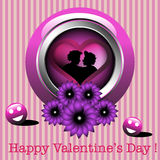 Valentine greeting royalty free stock images