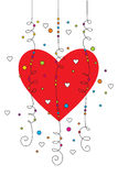 Valentine greeting card 03 Royalty Free Stock Photography