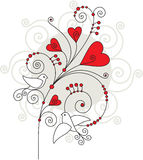Valentine greeting card 05 Stock Photo