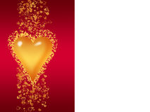 Valentine greeting card Royalty Free Stock Images