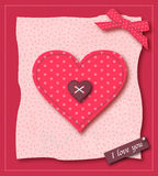 Valentine Greeting Card Stock Image