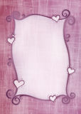 Valentine Greeting Card Fotografia Stock