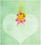 Valentine Greeting Card Fotografie Stock Libere da Diritti