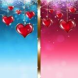 Valentine Greeting Card Fotografia Stock Libera da Diritti