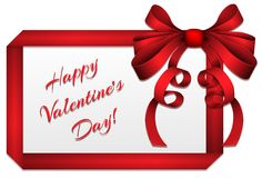 Valentine Greeting Card Imagens de Stock