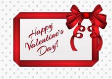 Valentine Greeting Card lizenzfreie abbildung