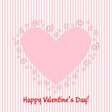 Valentine greeting card EPS10 Stock Images