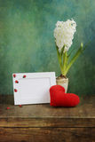 Valentine greeting Stock Image