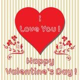 Valentine greeting Stock Photo