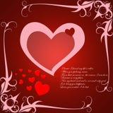 Valentine grunge Photographie stock libre de droits