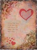 Valentine grunge Photographie stock