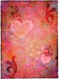 Valentine grunge Images libres de droits