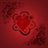 Valentine grunge Image libre de droits