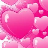 Valentine grunge background Stock Images