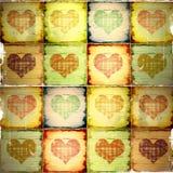 Valentine grunge background Stock Image