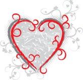 Valentine grunge background, vector Royalty Free Stock Photos