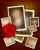 Valentine grunge pictures Royalty Free Stock Photos