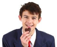 Valentine guy Royalty Free Stock Photo