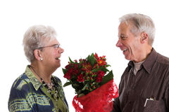 Valentine happiness Stock Photos