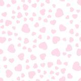 Valentine-hart patroon-02 royalty-vrije illustratie