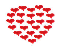 Valentine from the heart Royalty Free Stock Image