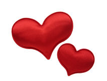 Valentine heart. Red heart shape for valentine's day Royalty Free Stock Image