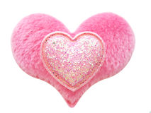 Valentine heart. Pink heart shape for valentine's day Royalty Free Stock Image