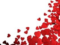 Valentine heart. Red heart shape for valentine's day Stock Image