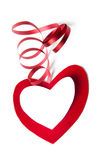Valentine Heart. Very beautiful valentine hearts on a white background Stock Photos