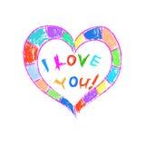 Valentine Heart Photo libre de droits