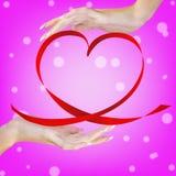 Valentine Heart Arkivbild