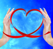 Valentine Heart Photos libres de droits