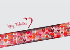 Valentine heart. This is 's art that you can decrease or increase without losing quality. This illustration can be downloaded in .eps format Stock Photography
