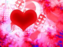 Valentine heart Stock Photo