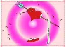 Valentine Heart Royaltyfria Bilder