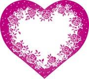 Valentine heart Stock Photography