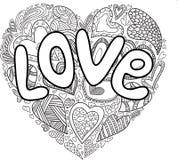 Valentine Heart ilustración del vector