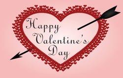 Valentine Heart Fotografia de Stock