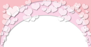 Valentine Heart Background 1. What is a more versatile Valentines Day illustration than a cloud of romantic, pink hearts, perfect for an event poster or classy Stock Photos