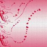 Valentine Heart Background Stock Images