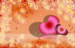 Valentine Heart Background 3 illustration stock