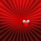Valentine heart  background red Stock Photo